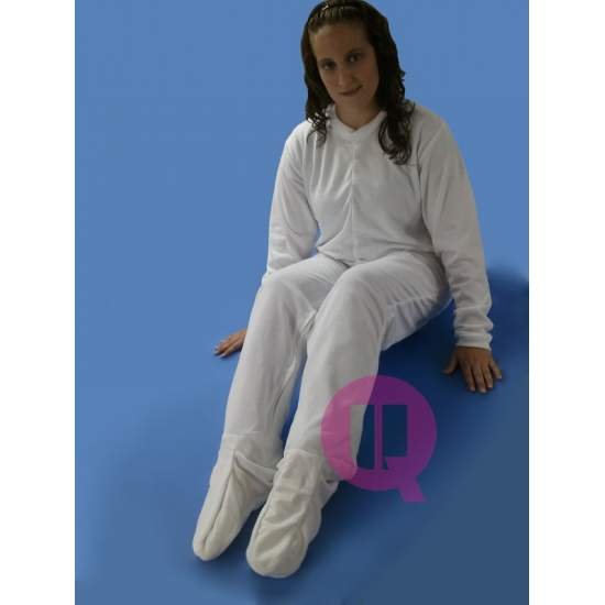 Pijama antipañal CON PIES / MANGA LARGA INVIERNO Tallas S - M - L - XL – XXL