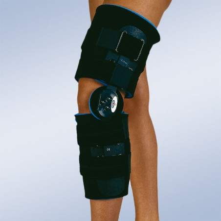 Ortesis de rodilla post-quirurgica flexo-extensión corta