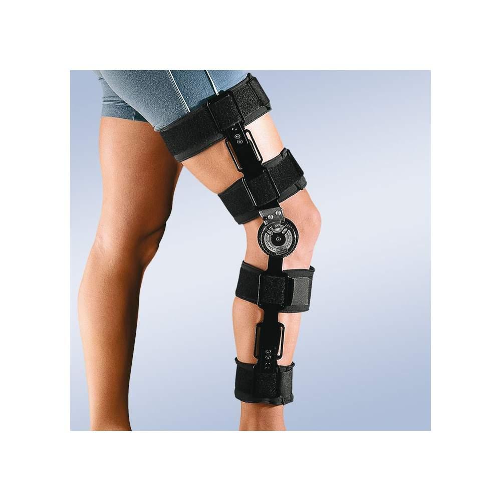 Ortesis de rodilla con bloqueo