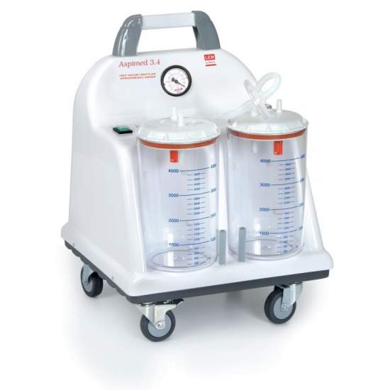 Aspirador quirurgico portatil aspiracion 90 litros minuto