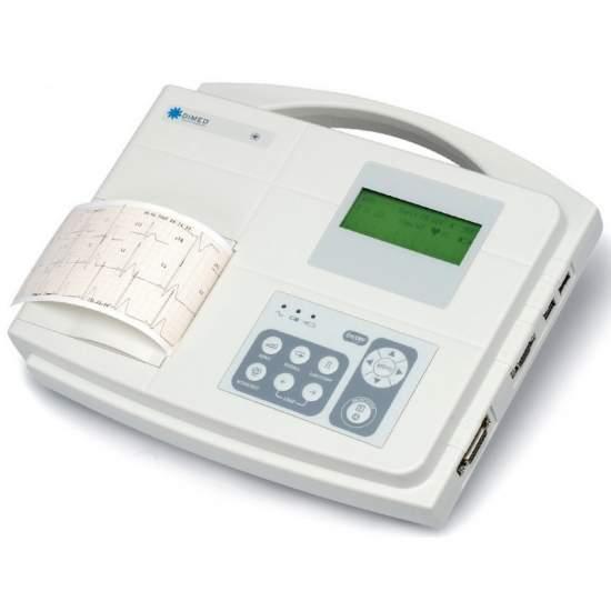 Pack de 2 unidades de electrocardiografo de 1/3 canales con interpretacion del diagnostico.