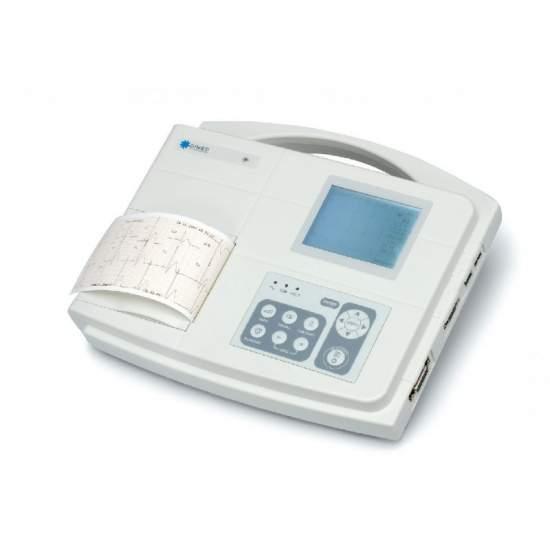 Electrocardiografo de 1/3 canales con interpretacion del diagnostico.