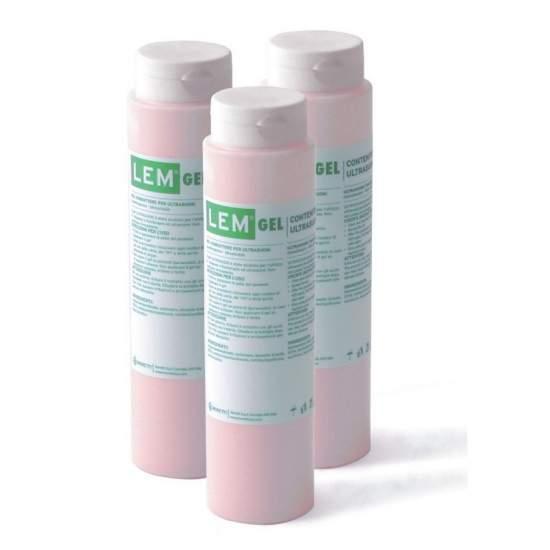 Pack de 25 unidades de gel incoloro para electrocardiografo de 260 gr.