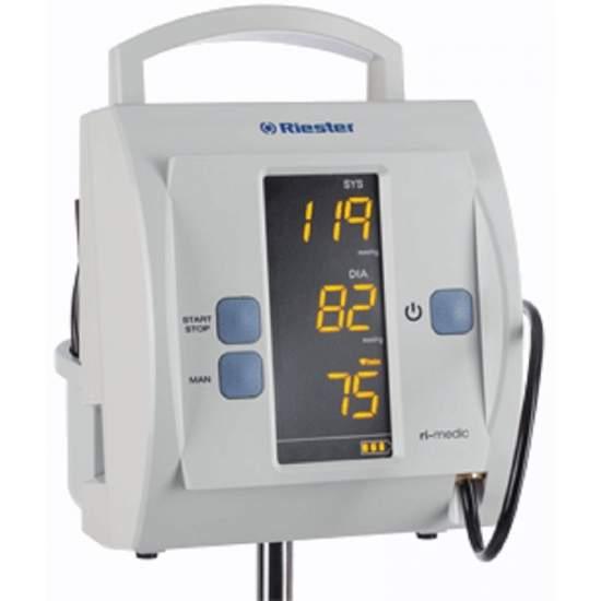 Monitor de presion arterial para uso clinico de pie