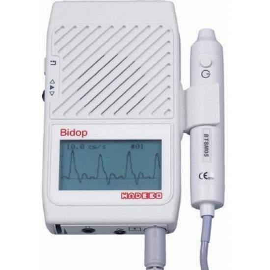 Doppler vascular bidireccional con pantalla lcd.