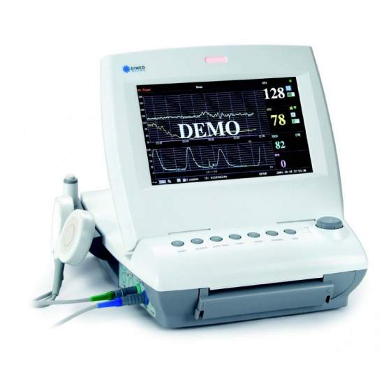 Monitor fetal gemelar con parametros basicos