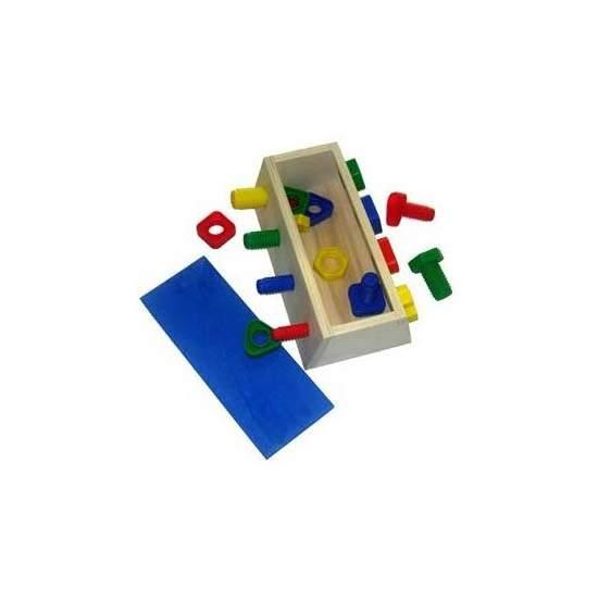 Caja para enroscar y desenroscar