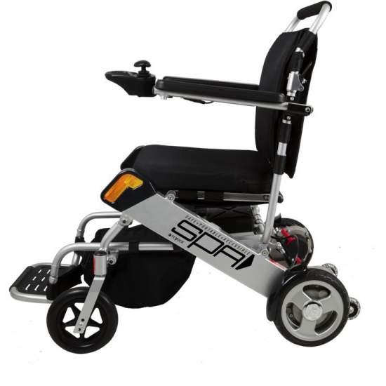 Silla de ruedas Plegable SPA 1461SE
