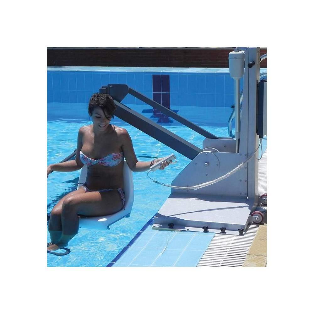 Grúa de piscina Metalu 600