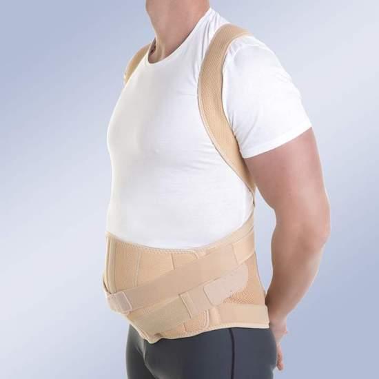 ORTESIS DORSOLUMBAR MODULAR TAYLOR abdomen con péndulo