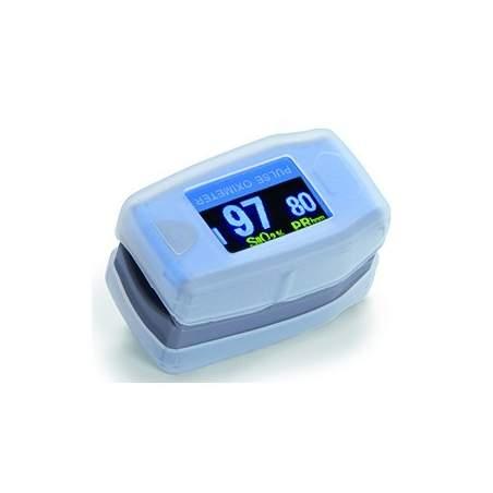 Fingertip oximeter plethysmographic waveform WITH PEDIATRIC