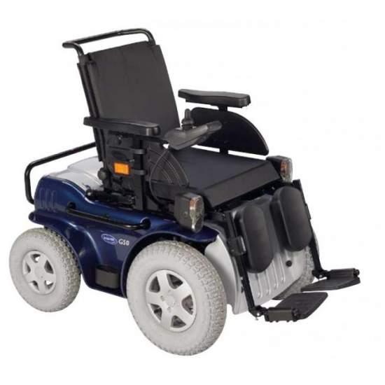 Invacare G50 - Silla de ruedas electrónica de exterior con tracción delantera