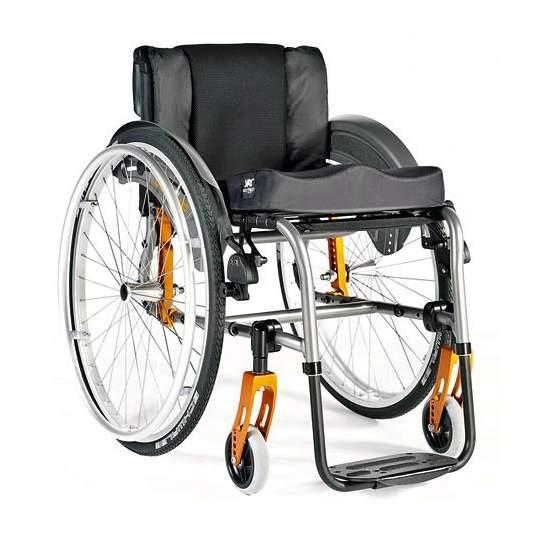 Silla de ruedas de Aluminio Quickie Life R