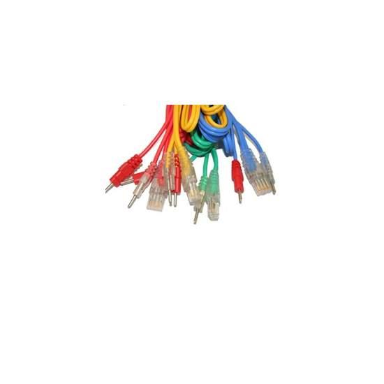 Compex Juego de 4 Cables 6P - CONEXIÓN WIRE