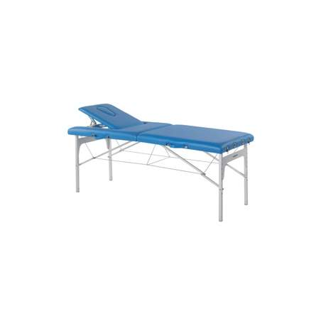 Folding stretcher aluminum legs