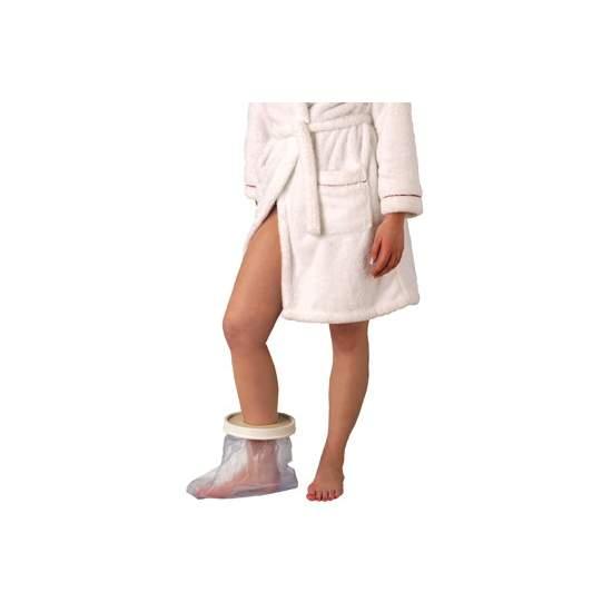 Cubre escayolas sencillos y cómodos de pie - tobillo  adultos, longitud 254 mm.