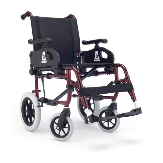 Rollstuhl Minos Metropoli kleine Räder