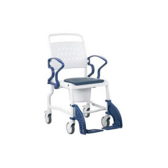 BATHROOM CHAIR WITH REBOTEC TOILET