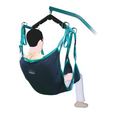 Special crane harness for amputees A917