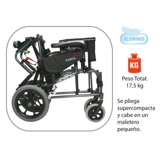 Aluminum tilting chair AD819
