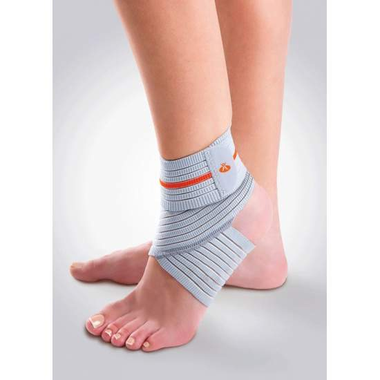 GRADUABLE ELASTIC ANKLE