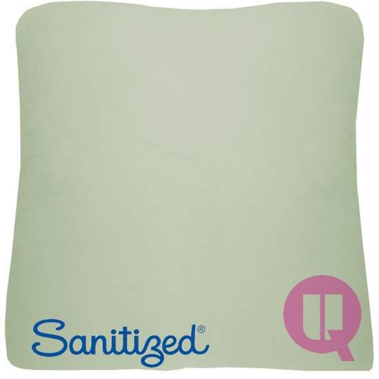 Sanitized Suapel cushion...