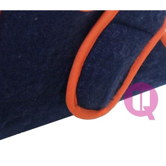 Patuco kombiniert blau-orange