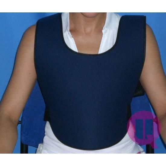 Abdominaal vest GEVLOCHTEN...