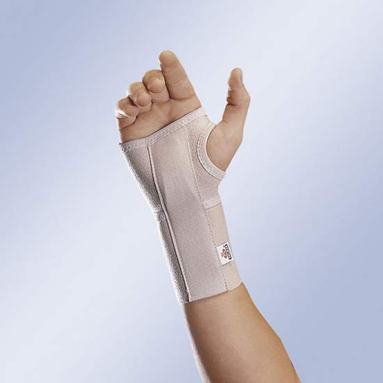 Wrist splint cuts