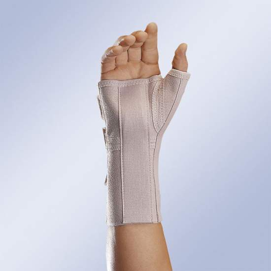 Wrist splint with thumb...