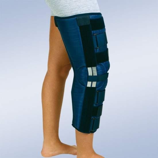 Immobilisatie knie-orthese...