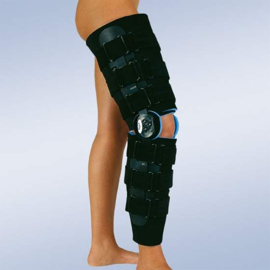 Brace post-surgical knee...