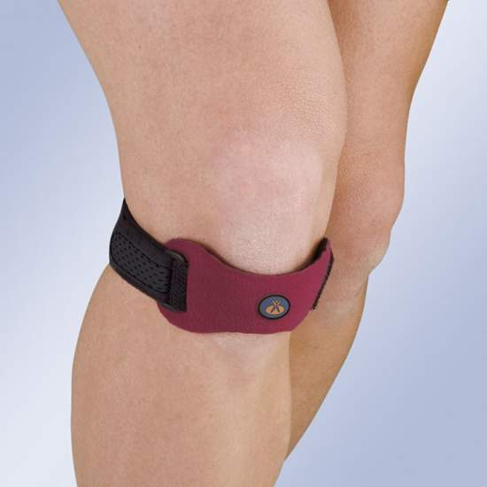 Patellar support with...