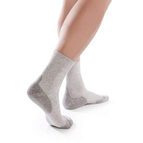 Diabetic foot sock. Relax