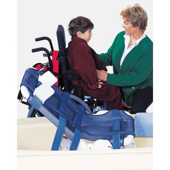 Kinderbadstoel Blue Wave