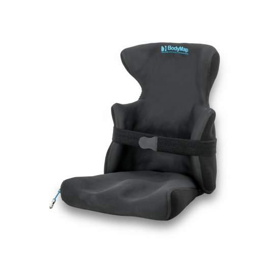 Sitz und Rücken Body Map AC