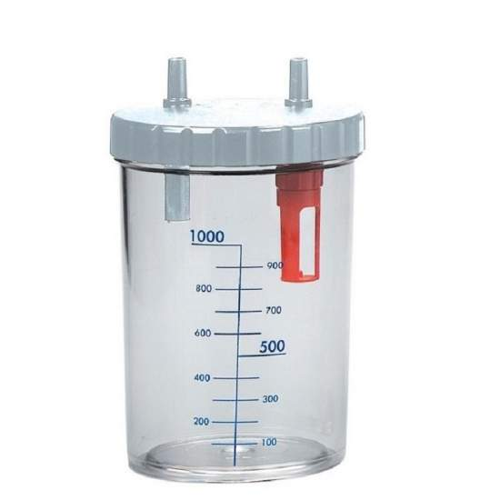 1 liter fles voor...