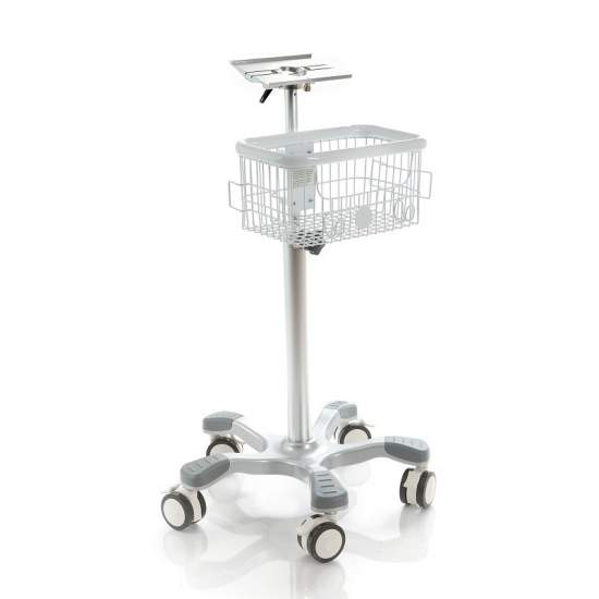 Optional aluminum trolley...