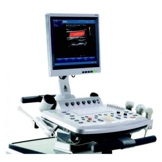 Digitale echograaf met hoge...