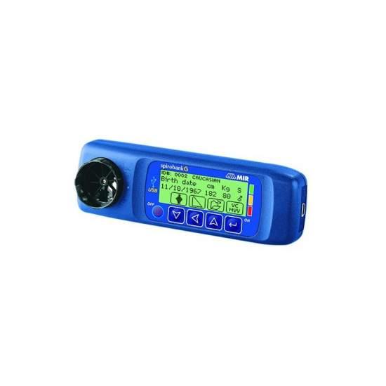 Tragbares Spirometer