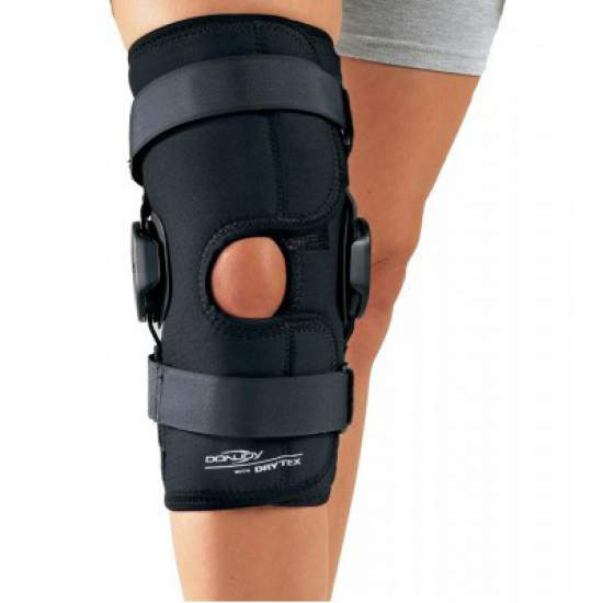 Kneepad Drytex Deluxe Hinged Knee Open Wrap