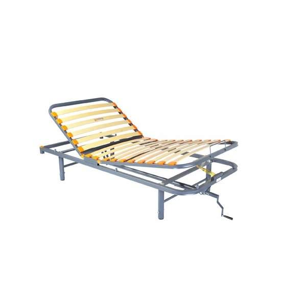 Geria Hus Bett manuell beweglich 3 Ebenen, verstellbare Beine