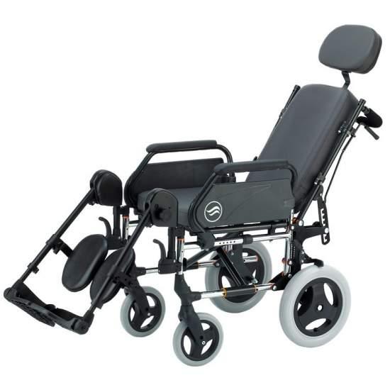 Breezy 250R - Opklapbare stalen rolstoel die niet zelfrijdend is
