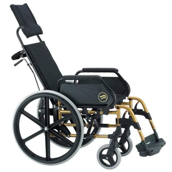 Breezy 250R - Zelfrijdende en liggende rolstoel