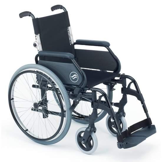 Breezy 300P - Opklapbare aluminium rolstoel