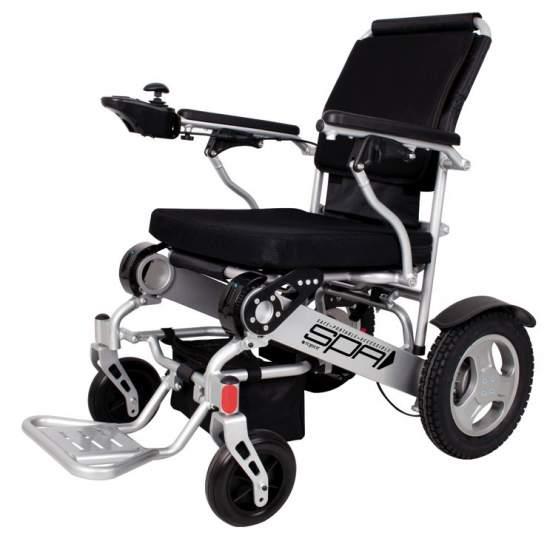 Rollstuhl, der SPA 141SE 250W faltet