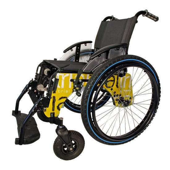 Testland voor actieve rolstoel