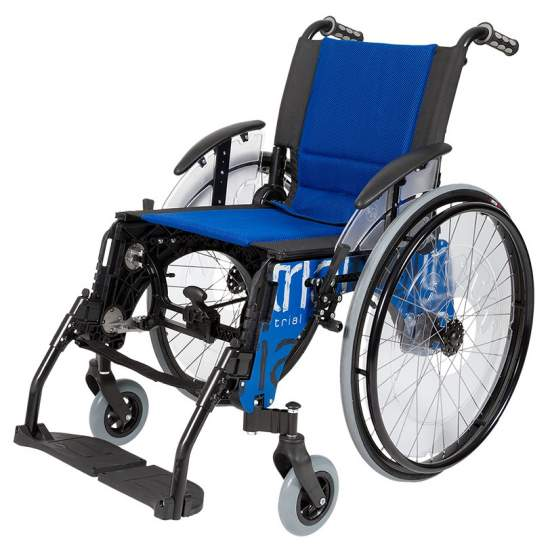 Silla de ruedas Trial Standard Roja