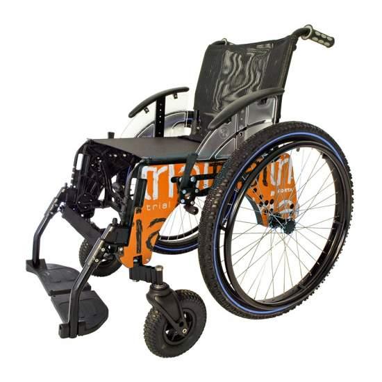 Rollstuhl TRIAL PLAYA Tauchboot