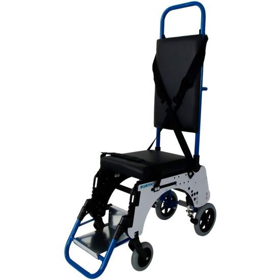 Wheelchair for airplane aisle